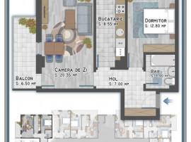 Apartament 2 camere Titan-Metrou 1 Decembrie 1918 sector 3
