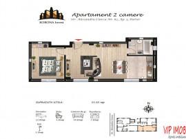 Apartamente noi 2 camere Brasov cartier Tractorul