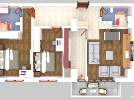 Apartament 3 camere in rate-Solid Residence,zona Salvare