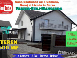 Casa Spatioasa cu 4 Camere, Teren 600MP, Garaj, Terasa si Li