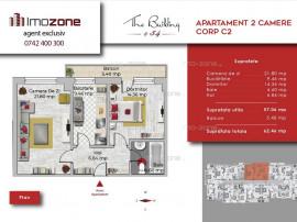 Apartament 2 camere decomandat,spatios, bucatarie inchisa...