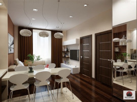 Apartament 3 camere modern promo cash Titan Auchan