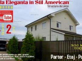 Vila Eleganta Stil American cu 4 Camere in orasul Buftea