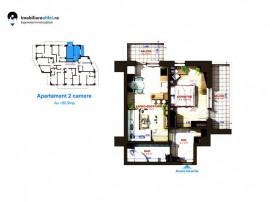 Comision 0%. Apartament nou cu 2 camere, zona Bucium