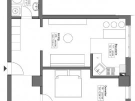Apartament 2 camere modele open space, HIMSON - Metalurgie