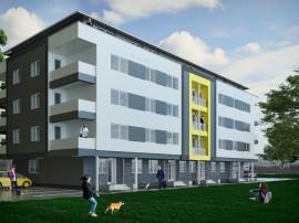 Apartament 3 camere, decomandata, cu gradina