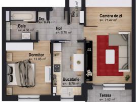 Apartament cu 2 camere 5% DISCOUNT 01.05-31.05