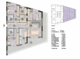 Apartament 4 cam+terasa , decomandat NearCenter Residence Ag