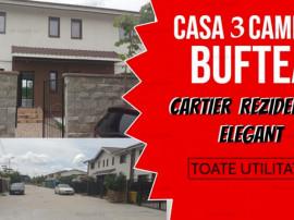 Casa 3 Camere si 3 Bai in Cartier Elegant in Buftea
