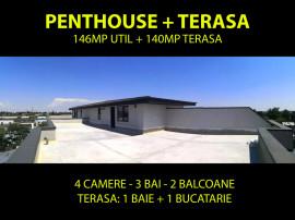 Penthouse cu Terasa 140mp Metrou Aparatorii Patriei