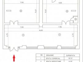 Calea Calarasilor: Spatiu comercial de 170 mpu. Genereaza...