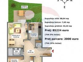 Apartament 3 camere în Arca Residence, Calea Feldioarei,...