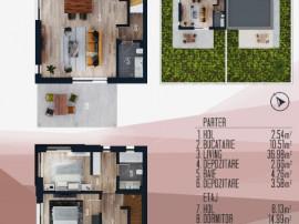 Vila moderna, comuna Berceni