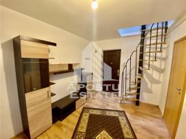 Apartamen 1 camera cu mansarda
