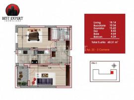 Direct Dezvoltator Apartament 2 camere 8 minute metrou Nicol