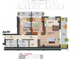 Brancoveanu, 3 camere, lux, ideal familie