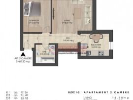 Apartament 2 camere zona metrou Berceni