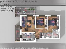 Apartament 3 camere Titan - Pallady - Parcul Teilor