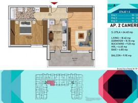 Apartament 2 camere -Pallady-Metrou Nicolae Teclu