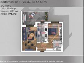 Aartament 2 camere New Parc Titan-Teilor