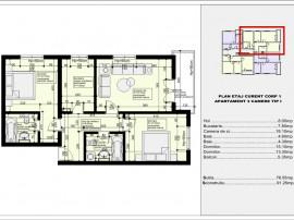 Apartament 3 camere bloc nou Drumul taberei