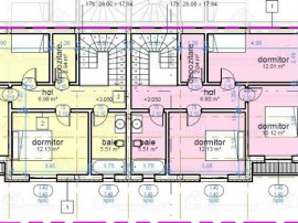 Duplex 4 camere de lux, P+E, str Tristan Tzara, zona Selgros