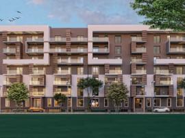 Proiect autorizat rezidential 170 apart. teren 16000mp