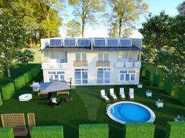 Casa pasiva- Casa viitorului! Proiect deosebit de duplexu...