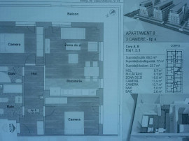 Apartament 3 camere zona Calea Moldovei