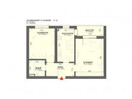 Apartament 2 Camere langa Metrou Lujerului