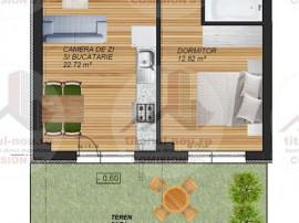 Direct dezvoltator - 2 Camere – Teren in propietate - T...