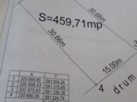 Teren 460 mp si proiect constructie duplex