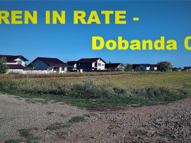 Teren 351mp Rate Berceni Ilfov,str. Oituz zona in dezvoltare