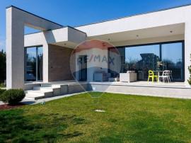 Vila stil mediteranean, design, fara etaj