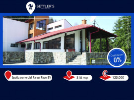 Spațiu comercial 310 mp + 135 mp terasa, 400 Euro/ mp.
