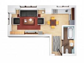 Bloc Nou Apartament 1 camere