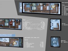 Apartament cu 5 camere la vila în Dambul Rotund, zona Lidl