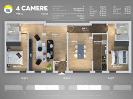 Apartament 4 camere cu gradina-Titan, Metrou Nicolae Teclu