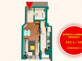 Copou - Apartament 1 camera / Cel mai nou proiect / pisci...