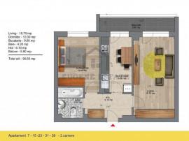 Apartament 2 camere, metrou Berceni, comision 0%