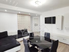 Apartament 3 camere Selimbar - mobilat si utilat modern, et