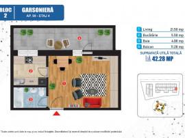 Garsoniera spatioasa - Noua - Complex rezidential