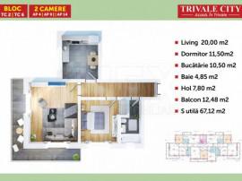 INEX.ro | Apartament 2 camere in Trivale City | Avans 5%