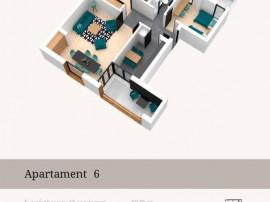 Apartement decomandat 3 camere Jandarmeriei cu terasa
