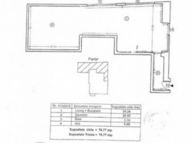 Apartament pretabil pt spatiu comercial Dorobanti