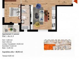 Apartament 2 camere - Direct Dezvoltator - ZOna de Sud