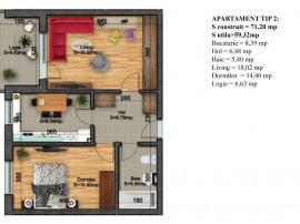 Oltenitei-Finalizat_Noua Casa Apartament 2 camere dec