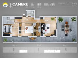 Apartament PENHOUSE-FINALIZAT- 10 minute de metrou Nicola...
