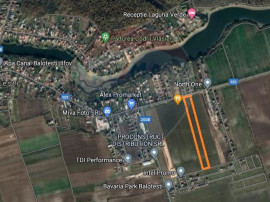 Teren ideal investiție 13.900 mp Balotesti / Soseaua Unirii