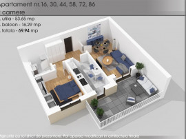 Apartament 2 camere-Titan-1 Decembrie-Parcul Teilor